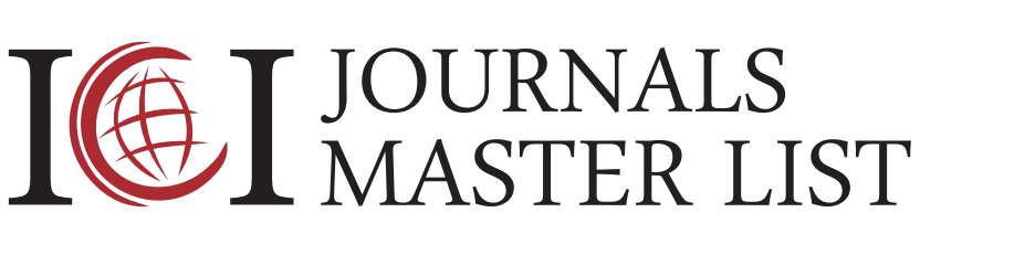 Index Copernicus International - Journal Master List